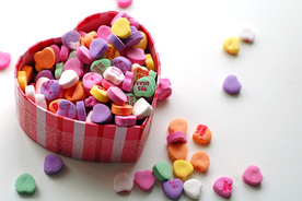 CandyHeartPic - Got Love? Article by Deborah Perkins of His Inscriptions.com