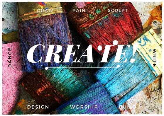 CREATE! A prophetic word for Christian artists, musicians, writers, and creatives who feel dry or burnt out. God wants to breathe life into your creations again! From Deborah Perkins of HisInscriptions.com