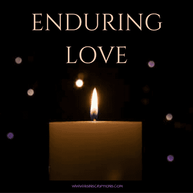 Enduring Love: a Christmas season prophetic word from Deborah Perkins of www.HisInscriptions.com. Move beyond the excitement of experiences to a deeper understanding of God's love!