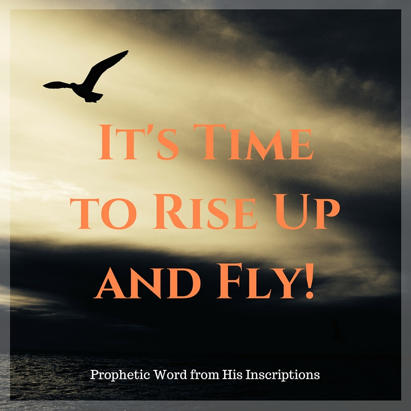 Prophetic Word: It's Time to Rise Up and Fly! From h HisInscriptions.com/ Deborah Perkins, June 2016
