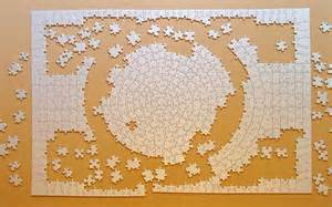 Unfinished Jigsaw Puzzle