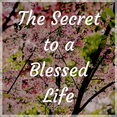 The Secret to the Blessed Life - a blog post by Deborah Perkins of HisInscriptions.com. Finding biblical sufficiency in all things looks different than what we imagine!