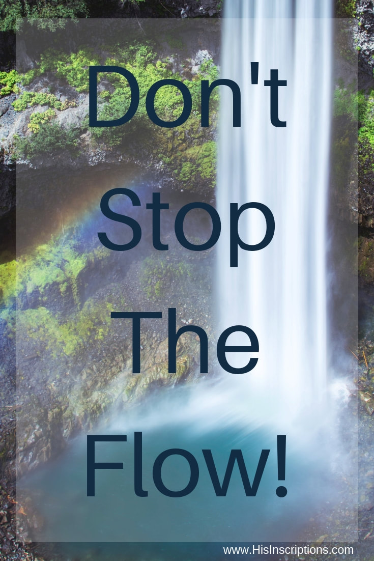 Don't Stop the Flow! Letting God set your boundaries as a Christian Leader, by Deborah Perkins