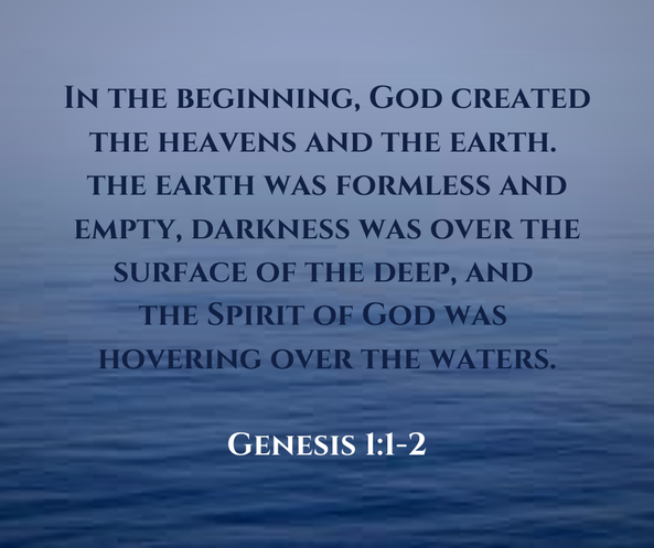 Picture: Genesis 1:1-2