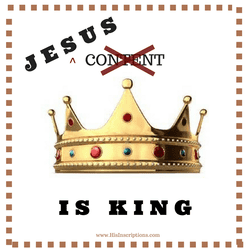 Jesus (Not Content) is King! Debunking the blogging myth that Content is King. A reminder for Christian writers to be led by God, not publishing or social media demands.