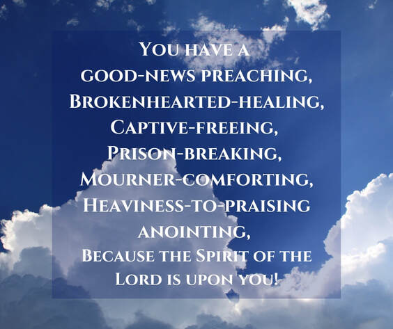 Picture: the Spirit of the Lord is Upon You! by Deborah Perkins