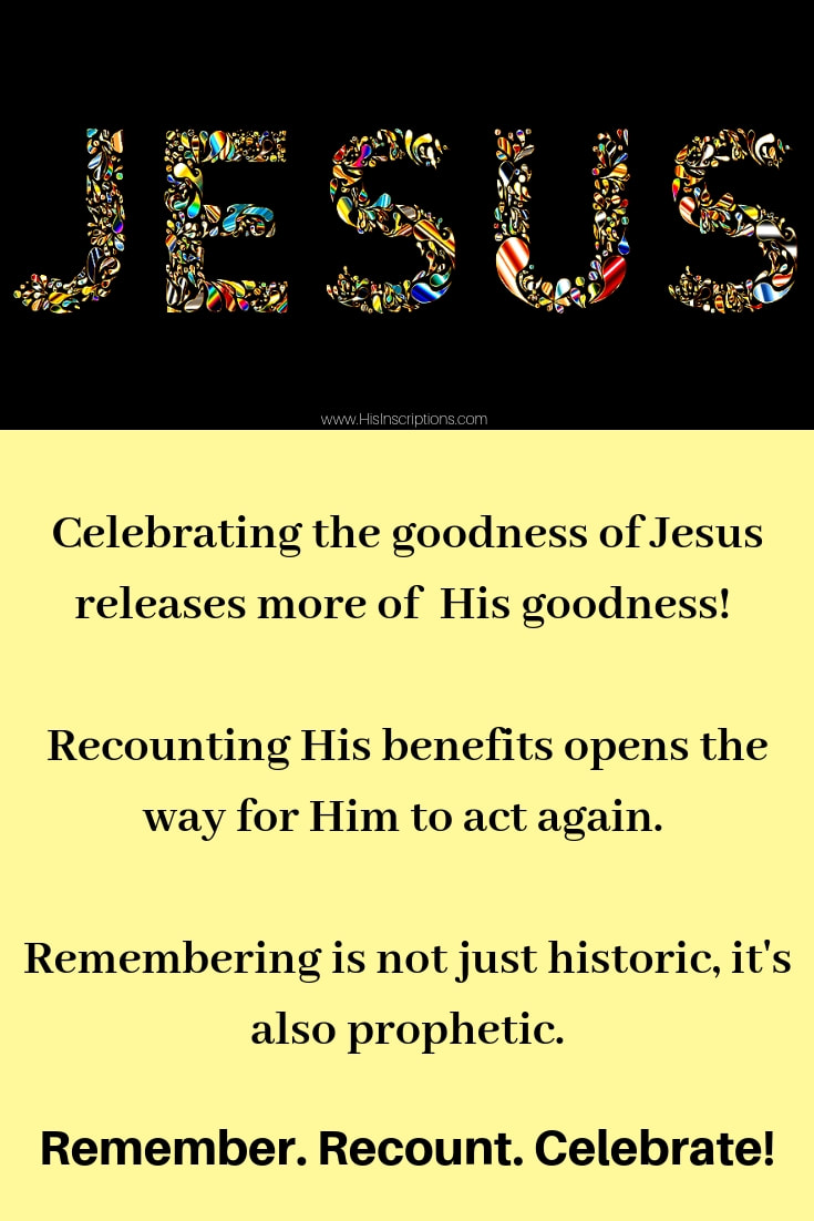 Jesus Image: Remember, Recount. Celebrate. His Inscriptions.com